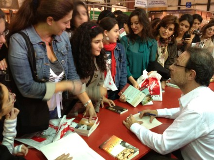 PHOTO-1 - Salon du Livre de Beyrouth oct-nov 2011 - Marc Levy