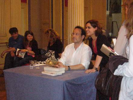 PHOTO-2 - Paris Signing for 'The Shadow Thief' - Marc Levy