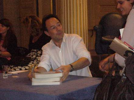 PHOTO-3 - Paris Signing for 'The Shadow Thief' - Marc Levy