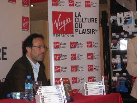 PHOTO-2 - Virgin Signing for 'All Those Things ..' - Marc Levy