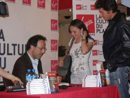 PHOTO-7 - Virgin Signing for 'All Those Things ..' - Marc Levy