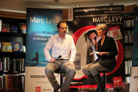 PHOTO-7 - Virgin Store Signing November 2011 - Marc Levy