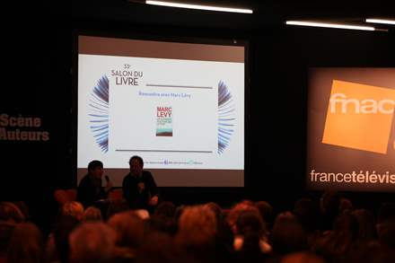 PHOTO-5 - Paris Book Fair  23.03.13 - Marc Levy