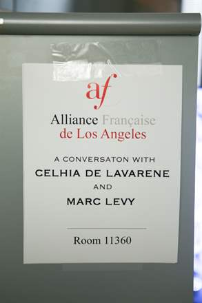 PHOTO-3 - UCLA Alliance Française October 2014 - Marc Levy