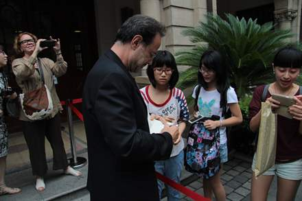 PHOTO-2 - Shanghai Book Fair  August 2014 - Marc Levy