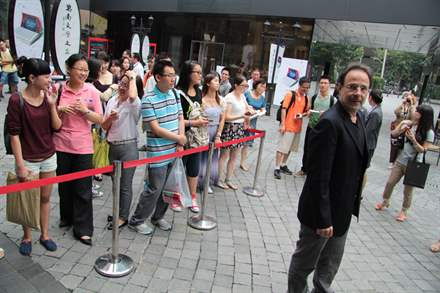 PHOTO-5 - Shanghai Book Fair  August 2014 - Marc Levy