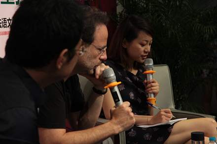 PHOTO-40 - Shanghai Book Fair  August 2014 - Marc Levy