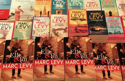 PHOTO-4 - Librairie Albertine, NY, 10.03.15 - Marc Levy