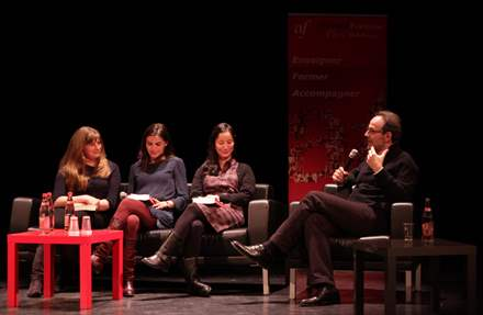 PHOTO-15 - Alliance Française de Paris, 20.03.15 - Marc Levy