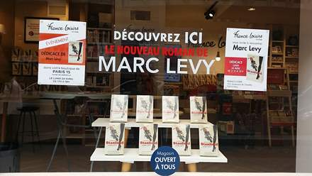 PHOTO-1 - Librairie France Loisirs, 24 avril 2017 - Marc Levy