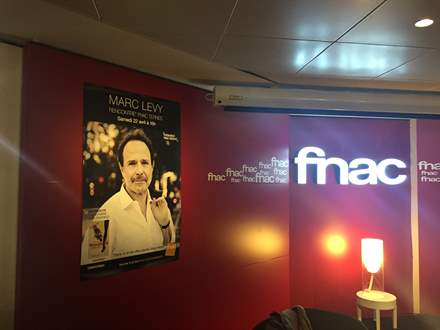 PHOTO-1 - Fnac des Ternes Paris, 22 avril 2017 - Marc Levy