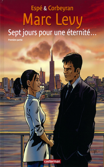 Marc LEVY - Livres - Seven Days for an Eternity, graphic novel, part 1