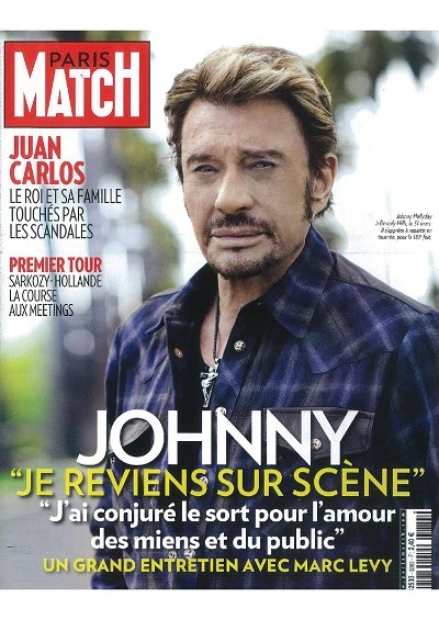 Marc LEVY - Inédits - Johnny Hallyday : rencontre à Los Angeles