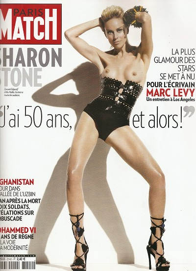 Marc LEVY - Inédits - Marc Levy interview Sharon Stone